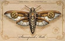 Steampunk Moth