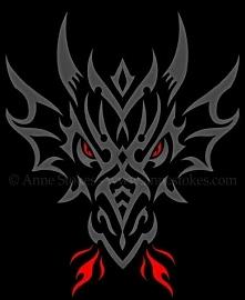 Tribal Dragon Head