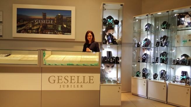 Sklep jubilerski GESELLE - ręcznie wykonane pierścionki zaręczynowe i obrączki ślubne najwyższej jakości