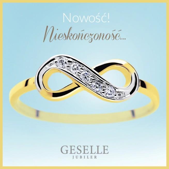 Najnowsza kolekcja biżuterii z motywem nieskończoności - odkryj kolekcję GESELLE Jubiler