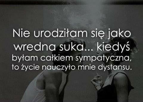 dystans....