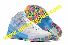 Under Armour Mens Steph Curry 2 Birthday PE Basketball Shoes