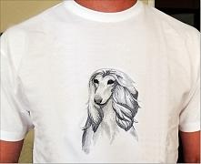 Bawełniana koszulka z hafte...