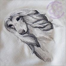 Wzór haftu - chart afgański