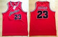 #23 Michael Jordan Red Swingman Commemorative Basketball Jerseys