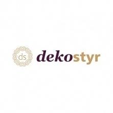 Logo firmy Dekostyr, produk...