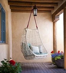 Podwieszany fotel - idealny na błogie chwile relaksu! Zainspiruj się! Zaplanu...