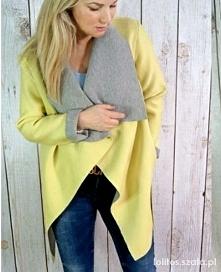żółty piankowy płaszczyk. jest ok? :)