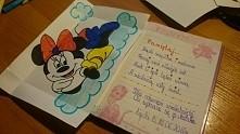 Kolejny wpis do pamiętnika dla małej Oli.