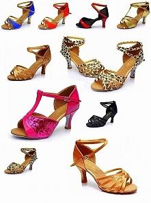 Buty do tańca, wiele wzorów do wyboru :) kliknij w zdjęcie i zobacz gdzie można je kupić !