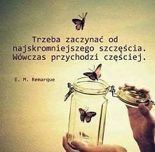 Pracujmy na nasze szczęście. ;)