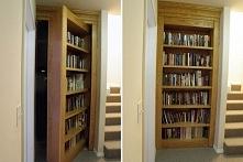 Ukryty pokój, ukryte przejście, ukryte wnętrze w domu, schowek na broń czy kosztowności, inspiracje i pomysły na to jak i gdzie zaplanować ukryty pokój w domu - zapraszam do wpi...