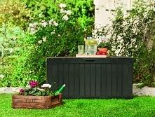 Skrzynie ogrodowe są nieocenione, gdy wykorzystujemy taras do urządzania spotkań rodzinnych lub gdy urządzamy grilla dla znajomych.