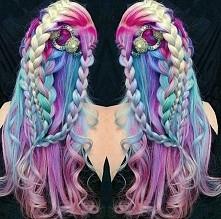 syrenka mermaid hair
