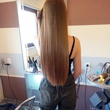 moje naturalne włosy ♥ cztero etapowy zabieg kosmetykami joico + prostowanie keratynowe :)