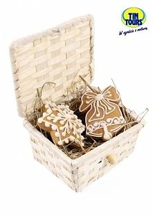 Bambusowy koszyk zamykany w sam raz na słodki upominek dla bliskiej sercu osoby od koszyki.net.pl
