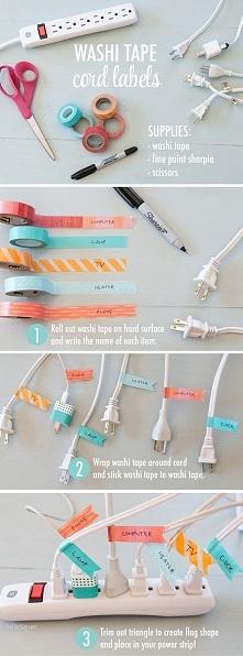 Organizacja kabli - pomysło...