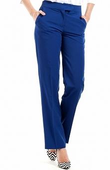 BEWEAR BW057 spodnie chabrowa Eleganckie spodnie, klasyczny fason, proste nogawki na kant