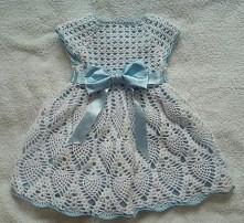 sukienka na chrzciny na szy...