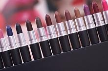 Kto posiada szminki z MAC-a? Ja osobiście mam jedną, ale wiem,że za niedługo ...