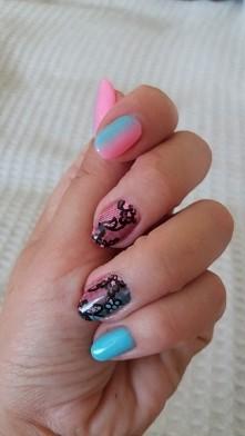 nails#hybryda#semilac#