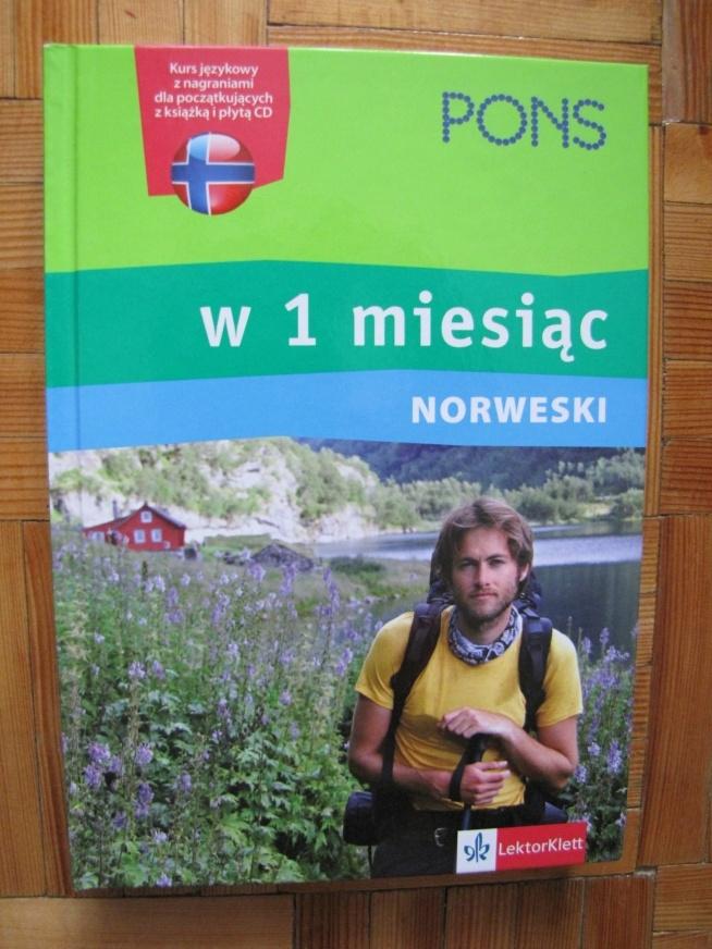 """""""Norweski w 1 miesiąc"""" - książka z ćwiczeniami + płyta CD  Cena 45 zł. + koszty wysyłki"""