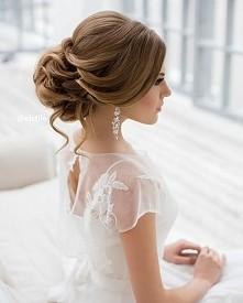 Fryzura na ślub ;)