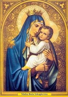 """""""Noszący(a) szkaplerz jako czciciel(ka) Matki Bożej zapewnia sobie Jej opiekę co do duszy i ciała w tym życiu i szczególną pomoc w godzinie śmierci.""""   16 lipca wspomn..."""