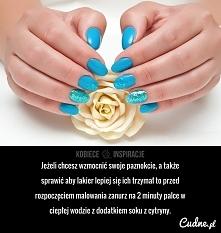 Zrób to przed pomalowaniem paznokci!