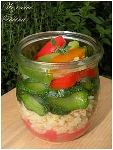 Bulgur z warzywami, przepis...