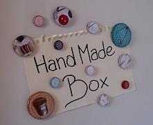 prosty sposób na domowej roboty magnesy DIY! Zapraszam na handmade-box.pl