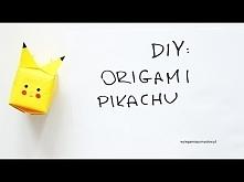 DIY: ORIGAMI PIKACHU