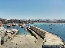 Port w San Sebastian, España