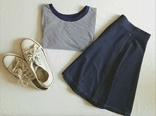 outfit, converse