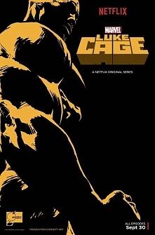 """Plakat promujący serial """"Luke Cage""""."""
