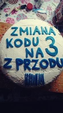 tort na 30 urodziny :)