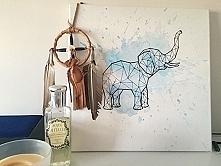 Geometryczny słoń