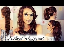 Music Festival Hairstyles f...