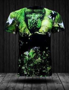 Prezentujemy Państwu koszulkę od firmy FPwear wykonaną w technologii sublimacji. Piękny motyw zielonego węża wśród zieleni. Gwarantujemy, że po wielokrotnym praniu koszulka będzie wyglądać jak nowa i służyć nowemu właścicielowi na długie lata.  Wykonana jest ze 100% poliestru, który oprócz wygody zapewnia bardzo dobre właściwości termoaktywne. Nadaję się do noszenia na co dzień jako uzupełnienie codziennego stroju lub na bardziej poważniejsze wypady. Idealny kamuflaż wśród zieleni lub w lesie.   Grafika fullprint jakości fotograficznej na pewno przyciągnie wzrok nie jednej osoby. A więc wyróżnij się !  Koszulka posiada oryginalne metki, etykiety oraz opakowanie. Dostępna jest w 4 rozmiarach: S,M,L,XL. Cena: 89zł
