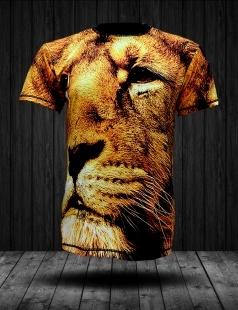 Koszulka fullprint Africa Lion - niewyczuwalna grafika i świetny materiał. Idealna na każdą imprezę !