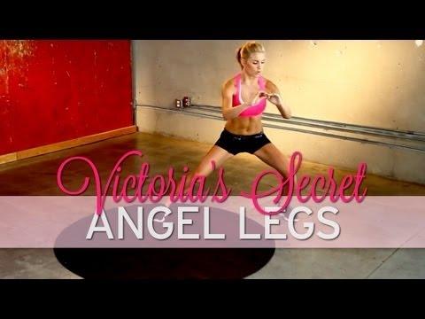 """How to Get Legs Like a Victoria's Secret Angel Model Dziś mija miesiąc od wykonywania ćwiczeń z Mel B. Planowałam wykonywać te ćwiczenia do końca sierpnia, jednak zmieniłam zdanie :) przyznam się, że ostatni tydzień odpuściłam sobie Mel B na nogi, a zastępowałam je tym oto zestawem. Od poniedziałku mam zamiar wykonywać ćwiczenia z serii """"Victoria's Secret Model Workout"""" :D"""