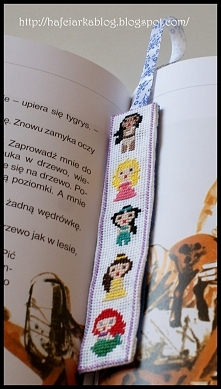 Księżniczki Disneya - zakładka do książki