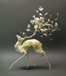 Surrealist Sculptures by Ellen Jewett Merge Plant and Animal Lifeby Christopher Jobson on March 21, 2015