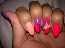 paznokcie autorstwa blondyneczka87 :-)