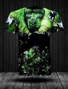 Prezentujemy Państwu koszulkę od firmy FPwear wykonaną w technologii sublimacji. Piękny motyw zielonego węża wśród zieleni. Gwarantujemy, że po wielokrotnym praniu koszulka będz...