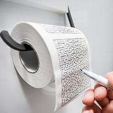 Papier toaletowy na długie posiedzenia :).