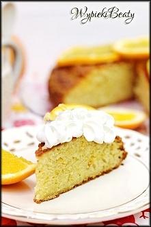 Ciasto pomarańczowe z imbirem