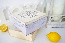 Pudełko w stylu skandynawskim DIY - prosty tutorial na slowgift.pl