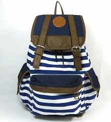 Plecak w marynarskim stylu! Ekstra zamiennik torebki :) kliknij w zdjęcie i z...
