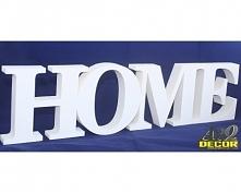 Napis Home - Dekoracje Ścienne - Wnętrz 3d, więcej naszych produktów na arqdecor.pl